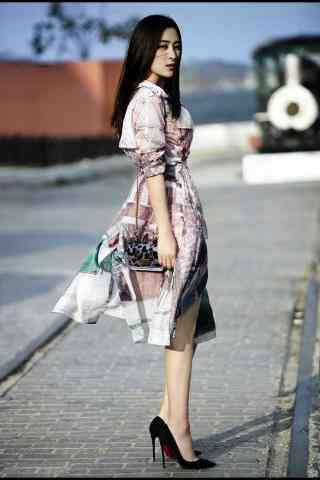 马苏时尚街拍手机壁纸 一