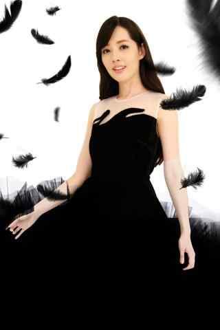 美女明星郭碧婷写真图片手机壁纸