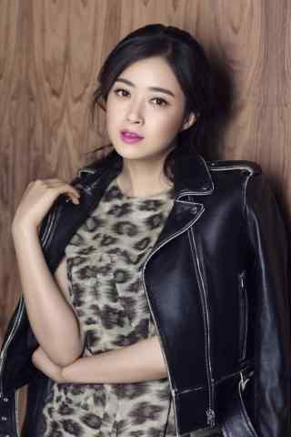 蒋欣时尚写真图片手机壁纸