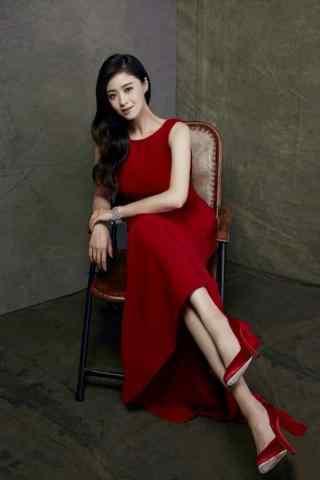 蒋欣时尚唯美写真图片手机壁纸