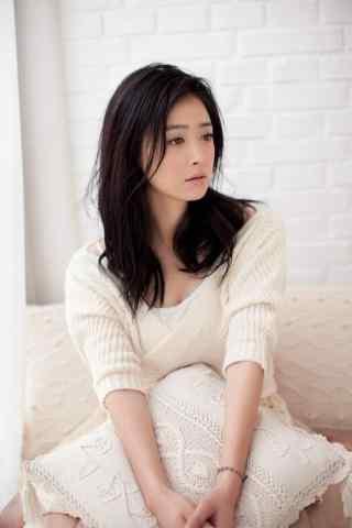 美女蒋欣清新写真图片手机壁纸