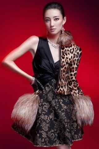 王丽坤时尚性感写真图片手机壁纸