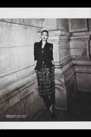 王丽坤时尚杂志图片手机壁纸