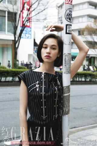 水原希子时尚街头