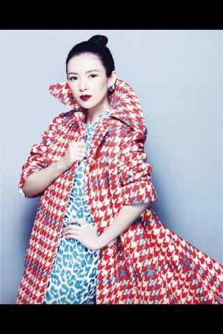 章子怡时尚图片手机壁纸