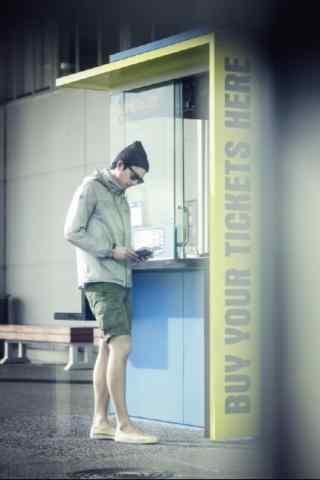 孔侑时尚造型手机壁纸