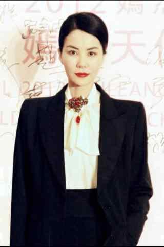 王菲时尚帅气西装造型图片手机壁纸