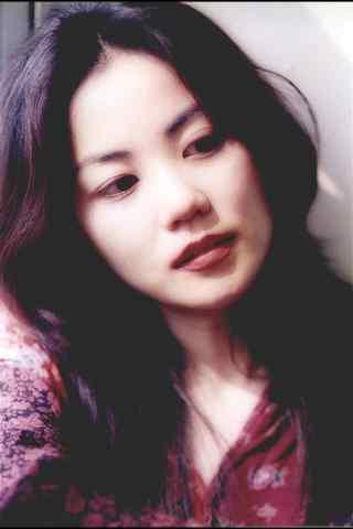 王菲王靖雯早期清纯长发图片唯美手机壁纸