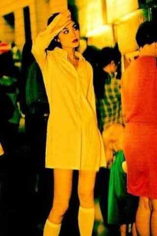 王菲时尚色彩个性美拍图片手机壁纸