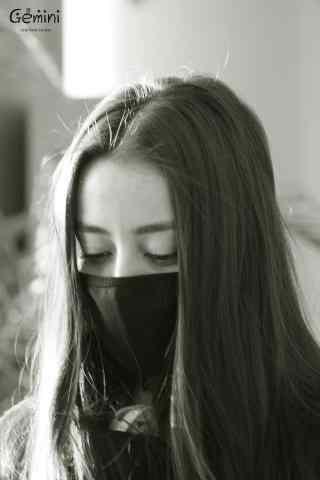 迪丽热巴机场帅气戴口罩手机壁纸