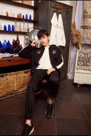 时尚杂志张翰长腿手机壁纸