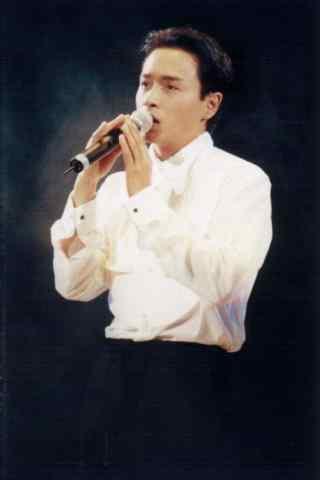 张国荣唱歌手机壁纸