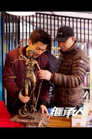 继承人刘恺威拍摄花絮手机壁纸