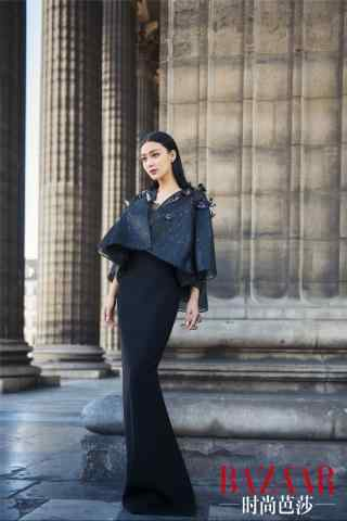芭莎时尚杂志拍摄