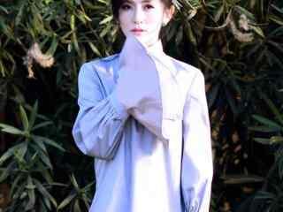 谢娜白裙飘逸气质温婉写真图片