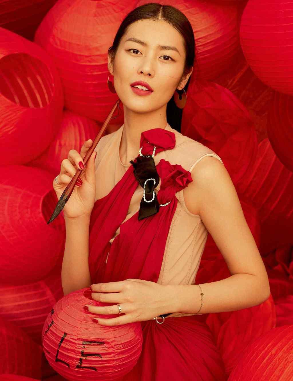 刘雯新春主题时尚大片高清写真