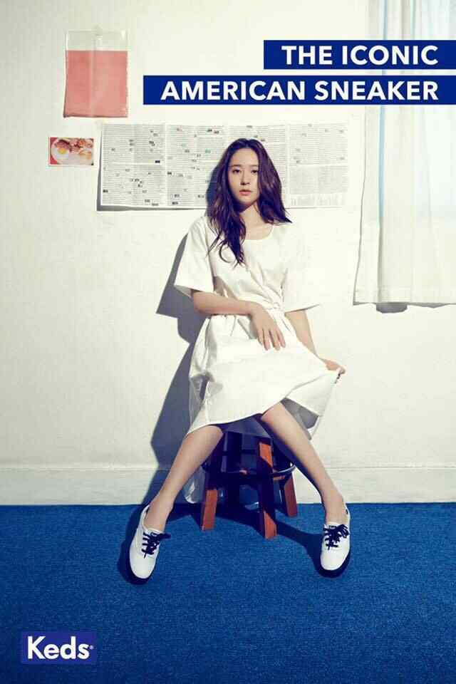 Krystal郑秀晶画报写真