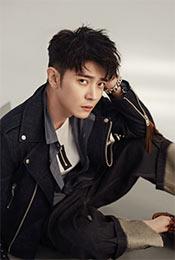 张丹峰酷帅养眼时尚写真图片