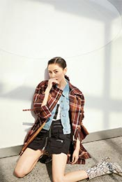 张天爱酷炫时尚写