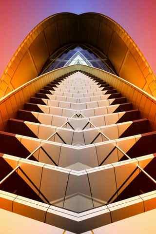 手机创意壁纸:结构