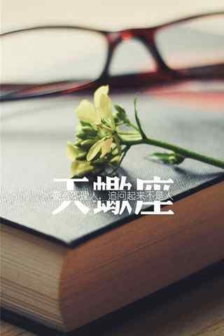 小清新文字天蝎座星座壁纸