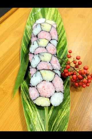 寿司创意足球彩色寿司手机壁纸