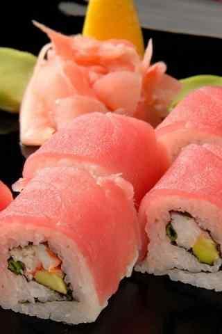 寿司生鱼片寿司手机壁纸