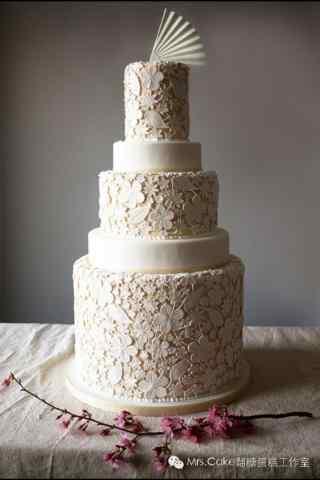 翻糖蛋糕创意精致