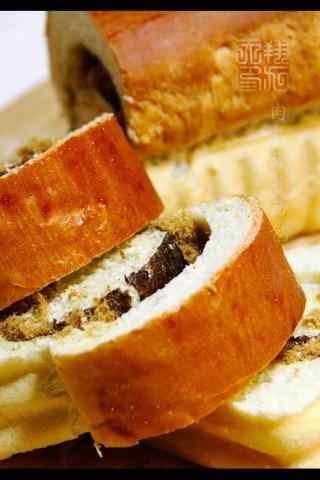 美味的千层面包图
