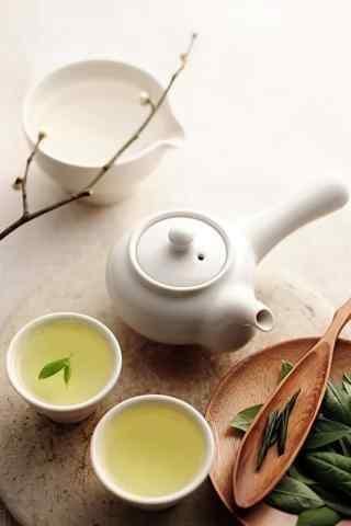 茶文化—精心泡制茶水手机壁纸