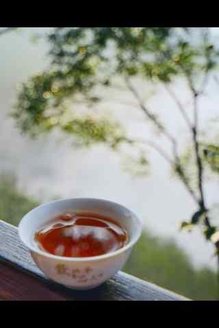 茶文化—一杯醇香的红茶手机壁纸