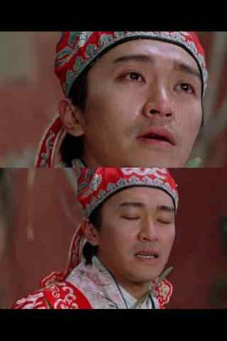 男星哭戏大比拼之周星驰哭图片
