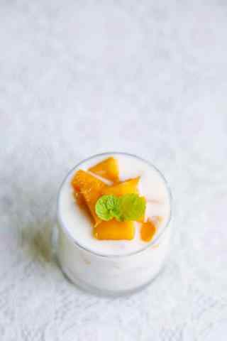 醇香可口的芒果小