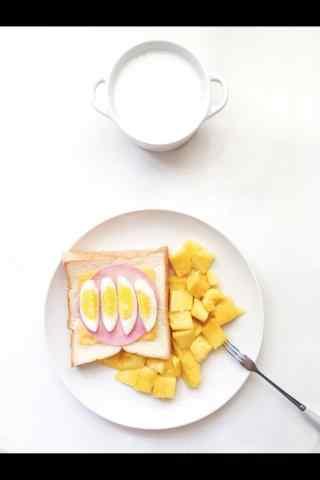 小清新好看的芒果小食手机壁纸