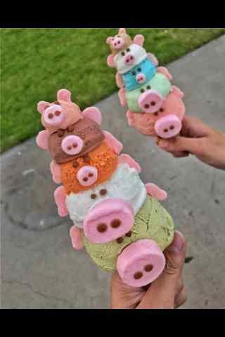 可爱的冰淇淋手机