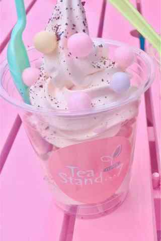 夏日清凉之粉色冰