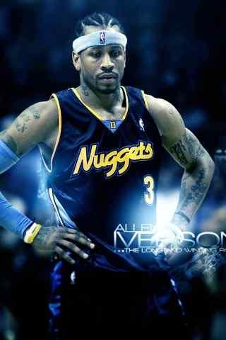 NBA3号球衣艾弗森