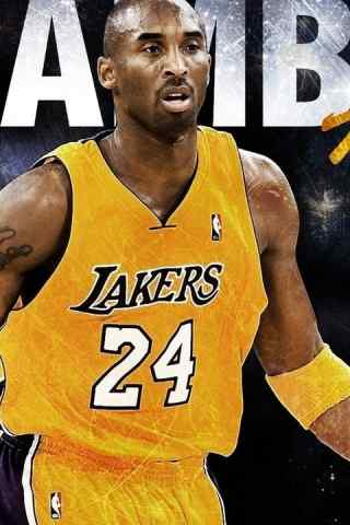 NBA湖人队24号球