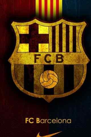 巴塞罗那队徽高清手机壁纸