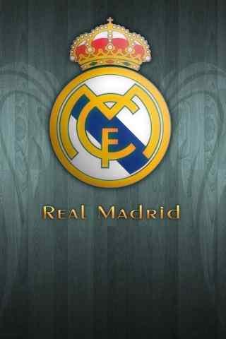 皇家马德里球队LOGO手机壁纸