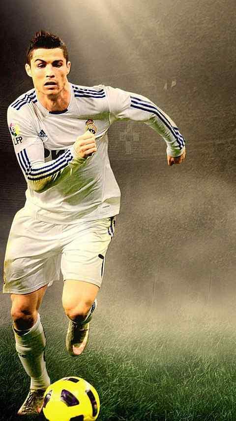 体育巨星克里斯蒂亚诺罗纳尔多手机壁纸下载_体育壁纸
