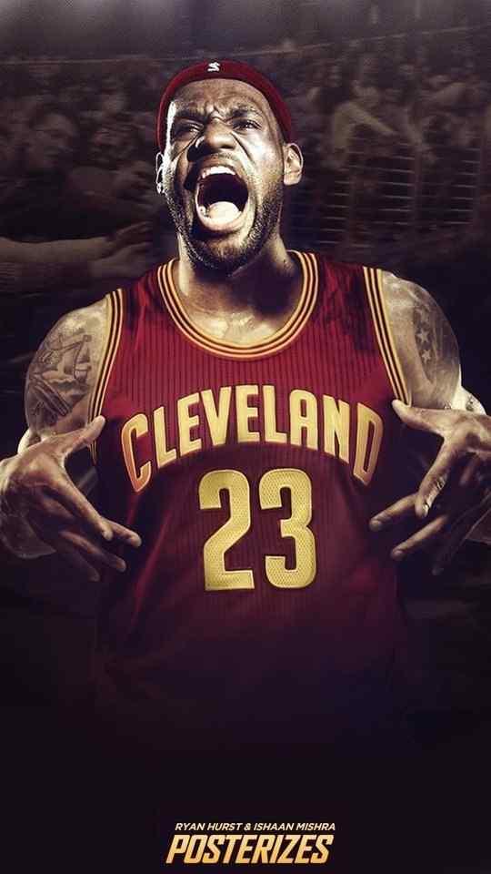 NBA球星勒布朗·