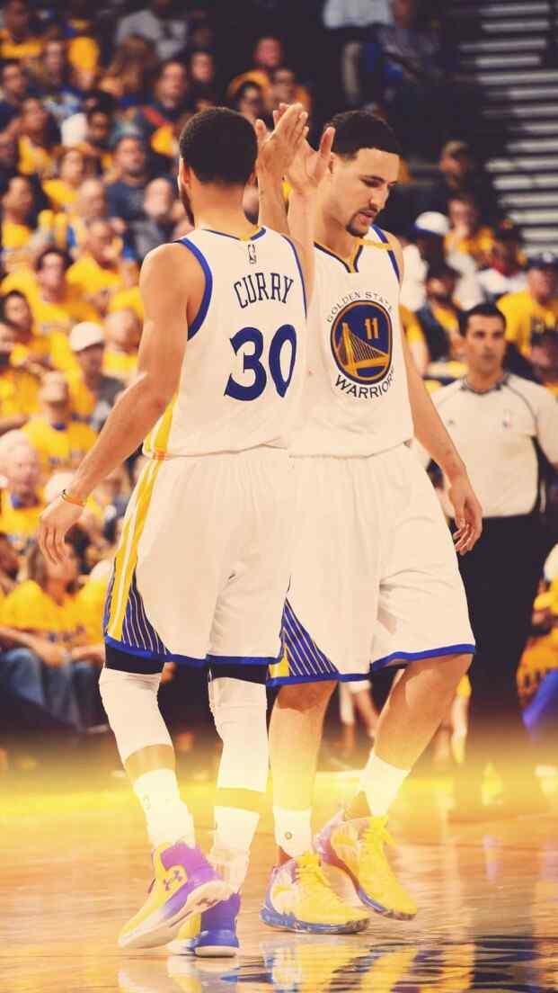NBA勇士库里汤普