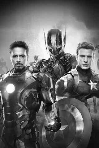 英雄系列电影美国队长3高清手机壁纸