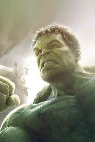 绿巨人浩克手机壁纸