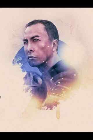 《星球大战外传:侠盗一号》人物手绘图片