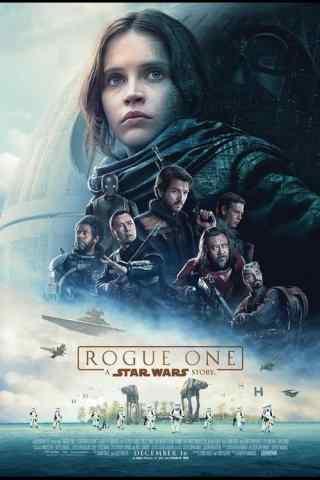 《星球大战外传:侠盗一号》官方海报手机壁纸