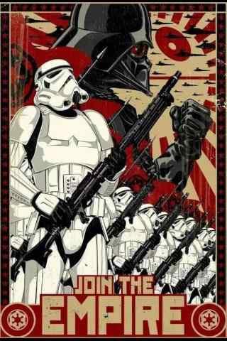 《星球大战外传:侠盗一号》手绘死亡士兵手机壁纸