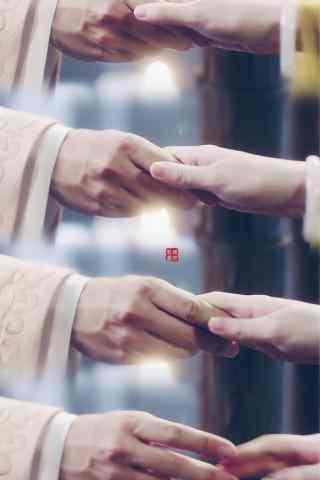 大唐荣耀2冬珠夫妇虐心手机壁纸