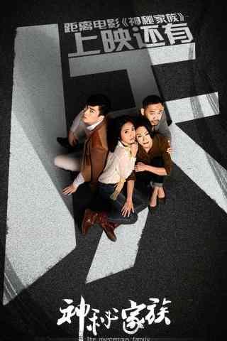 神秘家族电影宣传海报图片